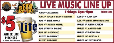 Summer Friday Poolside Concert Series